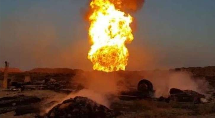 Gas pipeline blast in southern Iraq kills 3, injures 51, police say
