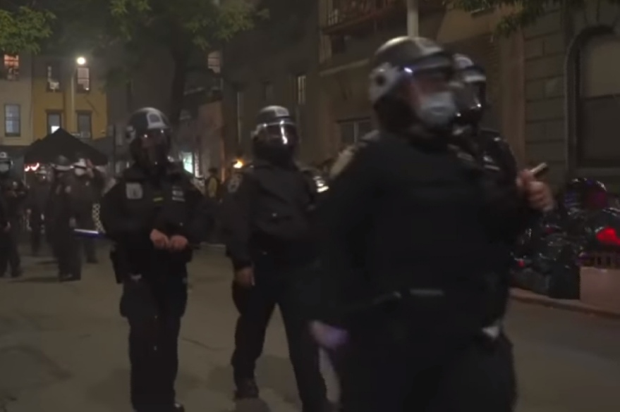 Police arrest 11 in Portland, 50 in New York at protests after U.S. vote