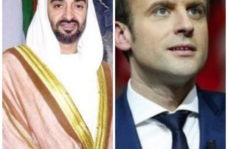 Mohamed bin Zayed, French President discuss relations, latest regional developments