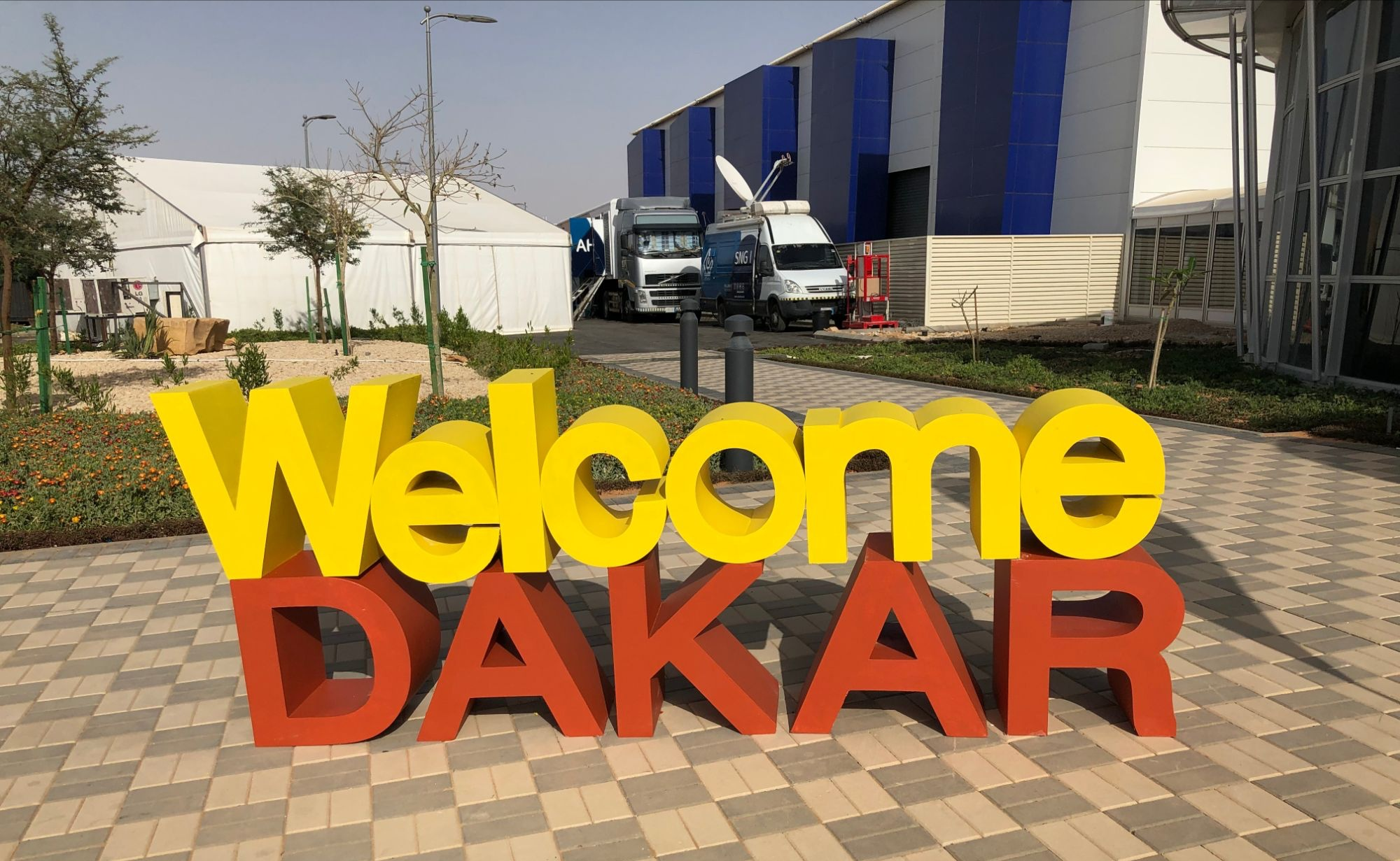 International racers arrive in Jeddah to take part in Dakar -Saudi rally 2021