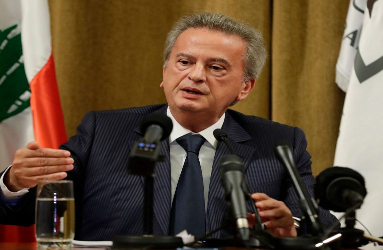 Lebanese prosecutor questions central bank governor Salameh after Swiss request