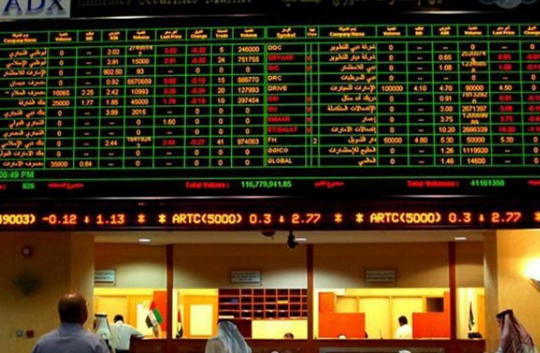 UAE stocks gain AED21.5 bn as transactions cross one billion dirham mark