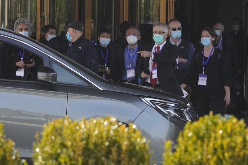 WHO team visited Wuhan hospital that had early COVID patients