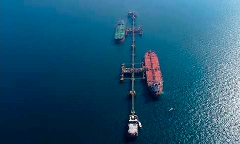 Iraq evacuates oil tanker after mine found attached to hull