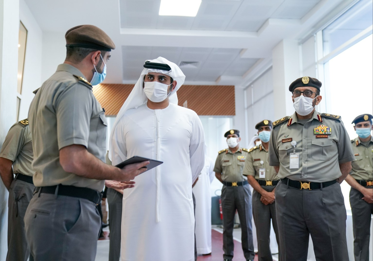 Maktoum bin Mohammed visits Directorate of Residency and Foreigners Affairs in Dubai