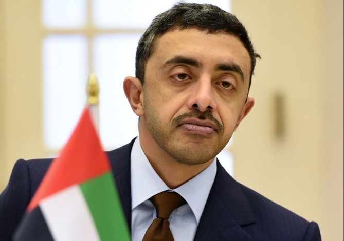 Abdullah bin Zayed, EU3 officials discuss issues of common interest