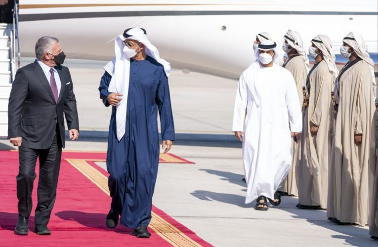 Mohamed bin Zayed, King of Jordan review regional developments