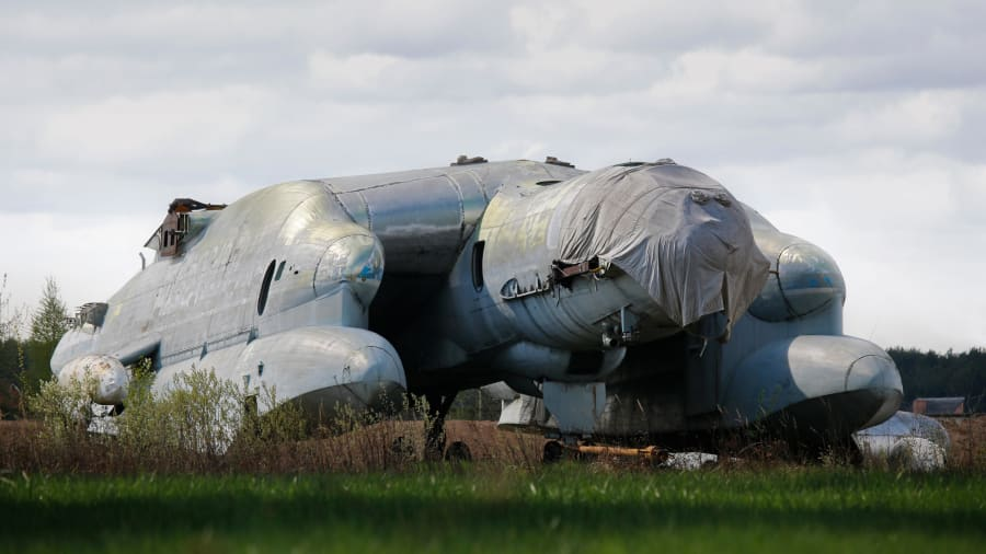 The Soviet flying beast that never really took off