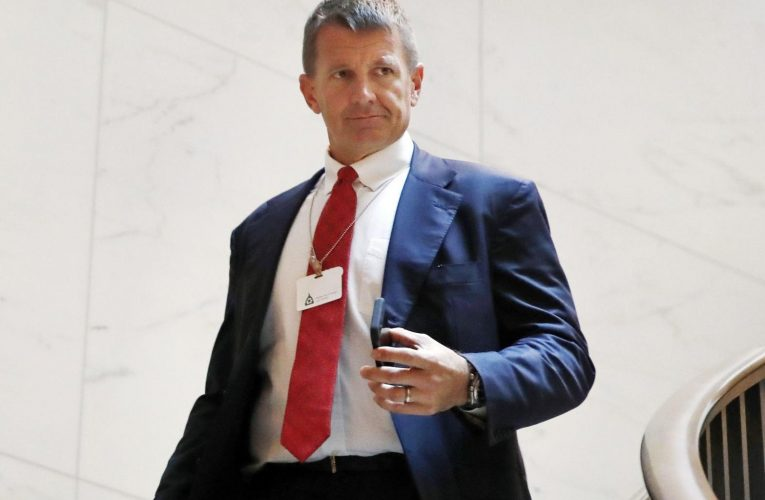 Erik Prince violated Libya arms embargo, UN report alleges