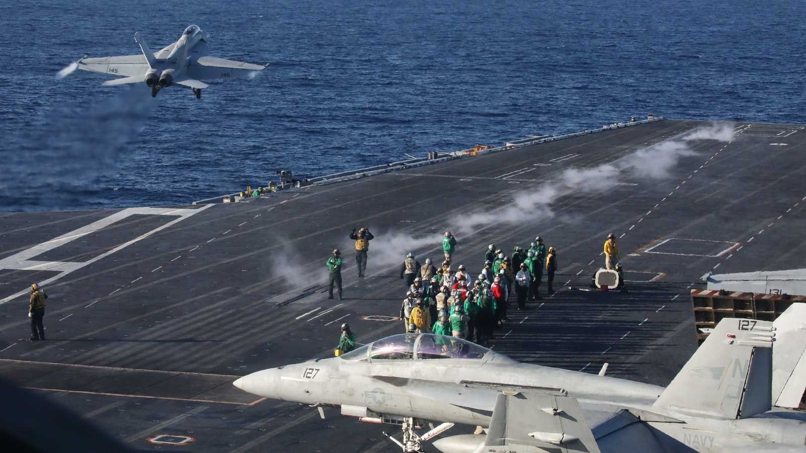Pentagon sends aircraft carrier Nimitz home from Middle East