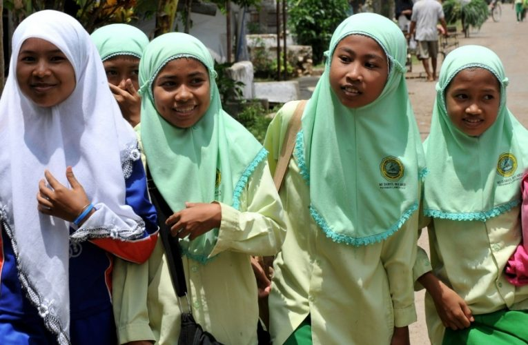 Indonesia bans mandatory Islamic hijab scarves for schoolgirls