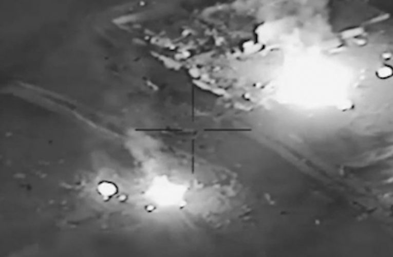 US carries out air strikes targeting 'Iranian-backed' militias in Syria