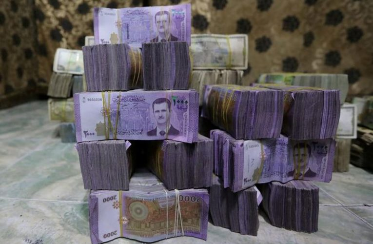 Syrian pound hits new low in contagion from neighboring Lebanon's currency crisis