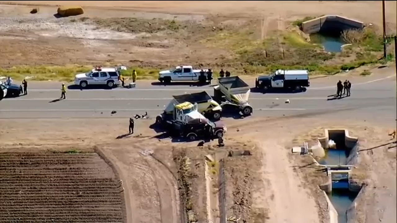 13 people killed in California SUV crash came through hole in US-Mexico border fence
