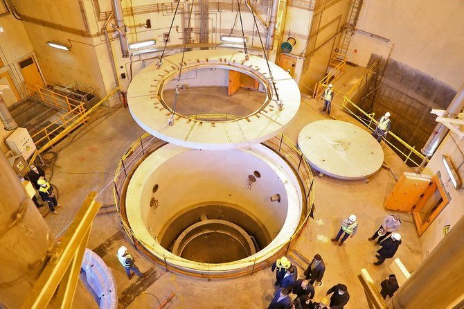 Iran says to cold test redesigned Arak nuclear reactor