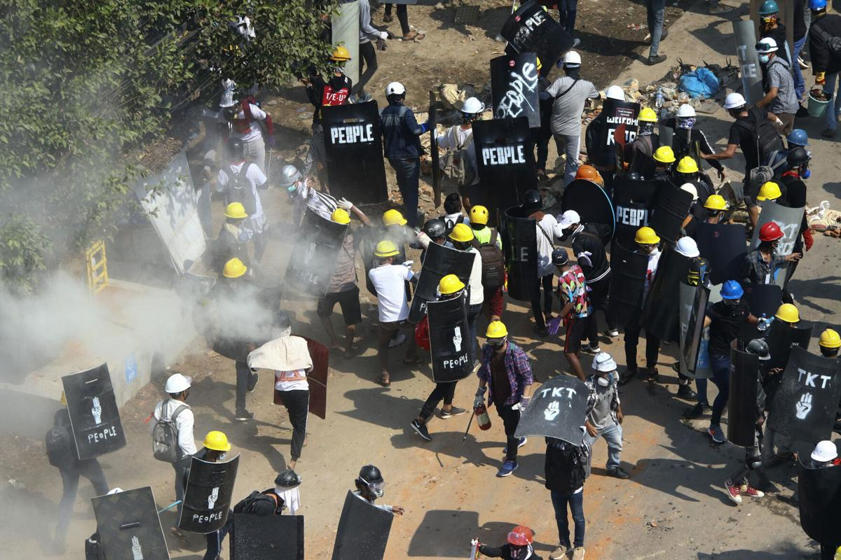 Several killed during fresh Myanmar protests as martial law imposed in two townships