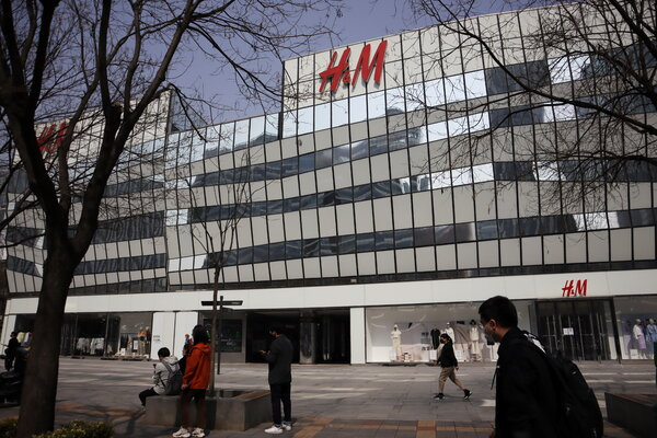 A bout of rage from China against Western brands