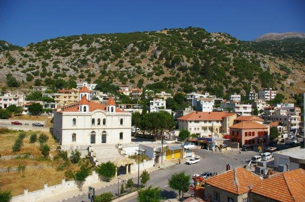 The Syrian city of Kassab