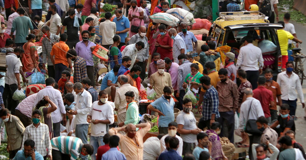 India crosses the 100,000-case threshold for daily infections