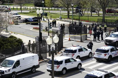 One officer dead, another wounded in car attack at U.S. Capitol
