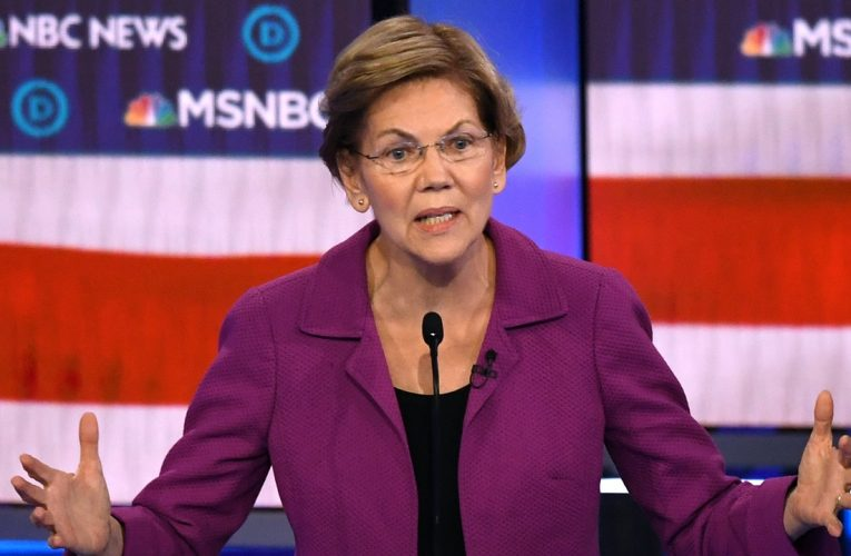 ELIZABETH WARREN SUGGESTS U.S. EXPLORE CONDITIONAL AID TO ISRAEL
