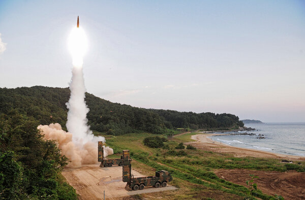 Koreas ramp up arms race