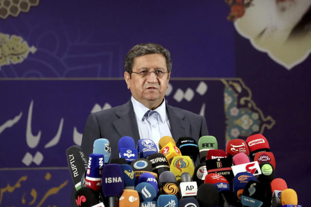 Iran's central bank chief dismissed for running for president