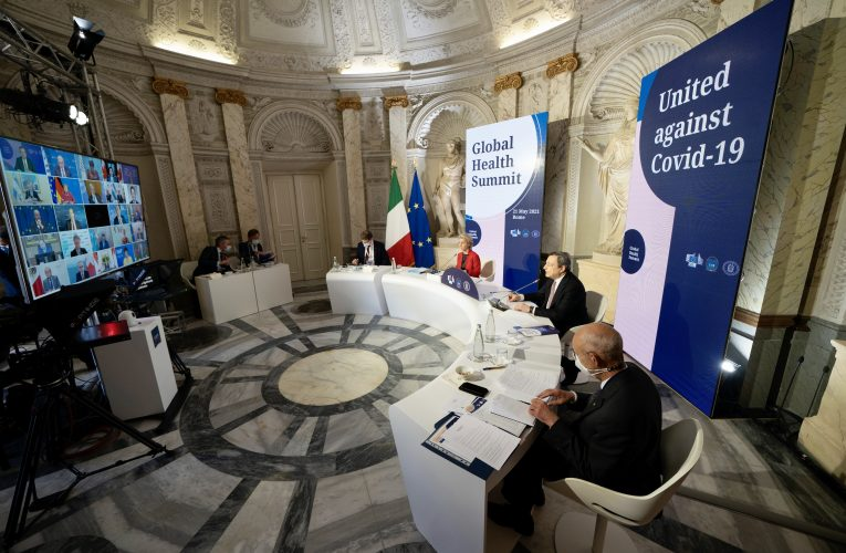 G20 leaders at Rome summit pledge more vaccines for poorer countries