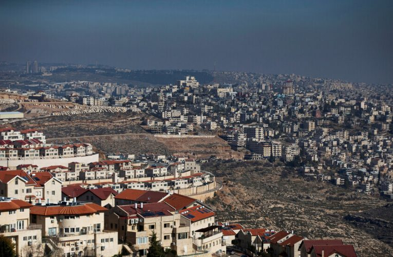 Settlements & Controlling Area ( C ) on top of the new Israeli Government's Policy