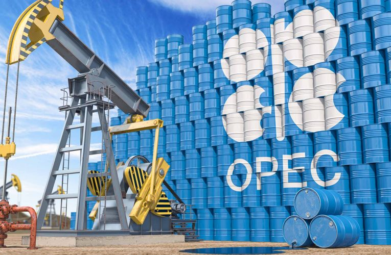 OPEC chief, in upbeat oil outlook, sees oil stocks falling further