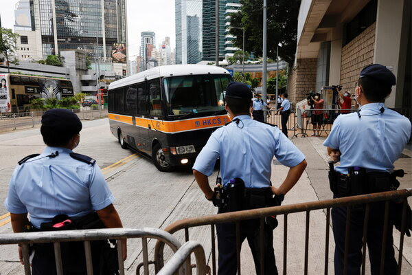 Hong Kong's first security law trial