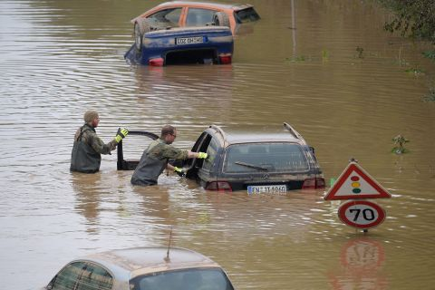 Fatal flooding in Europe
