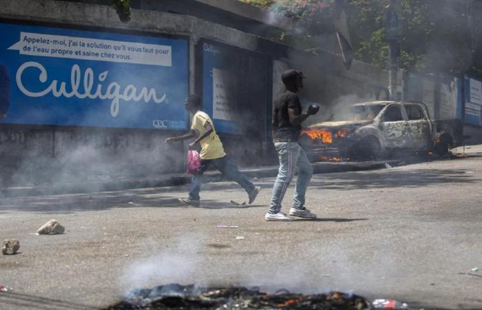 Haiti's interim government requests the help of US forces