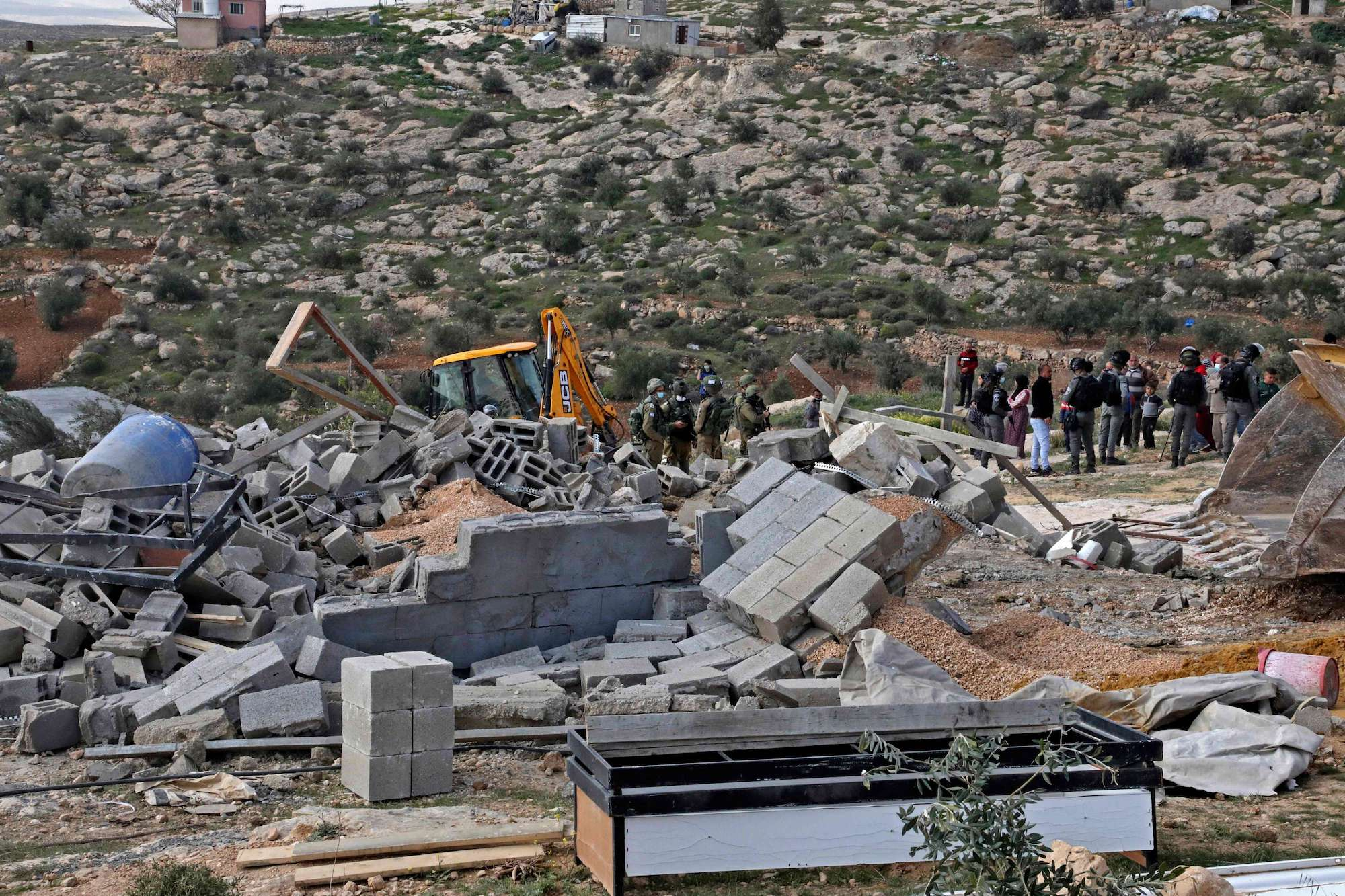 Facilities Provided by Isr. Army to 'Jewish National Fund' for Robbing Palestinian Land