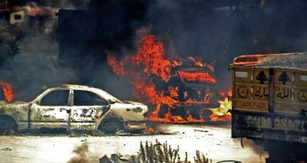 At least 28 killed in Lebanon fuel tank explosion