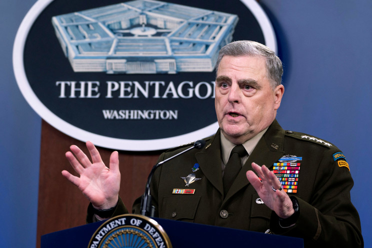 Joint Chiefs chairman moves up terrorist threat in Afghanistan
