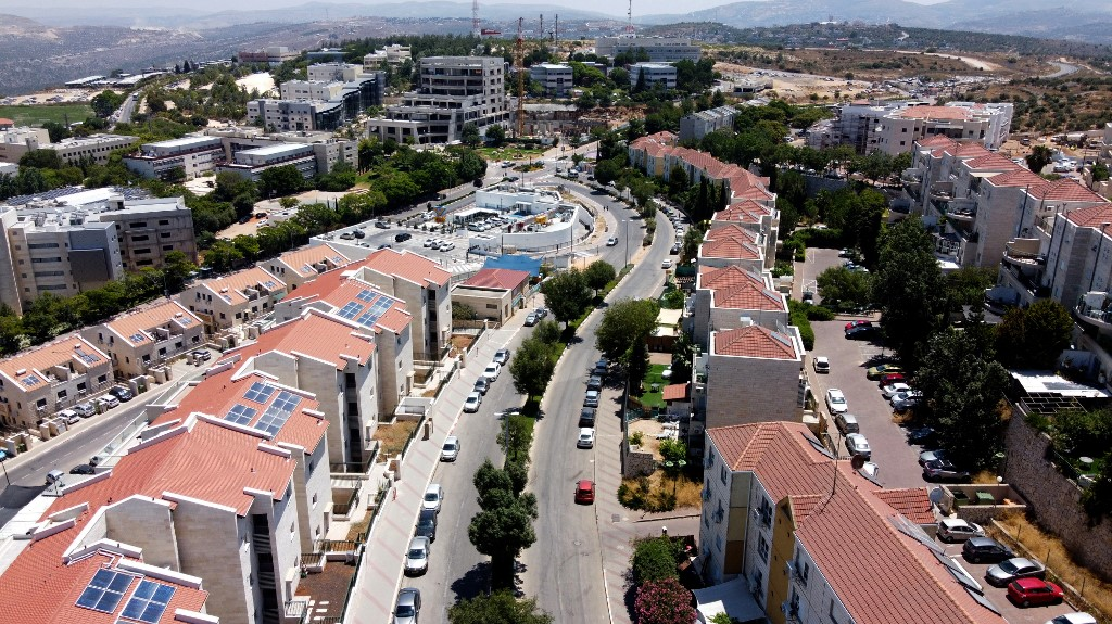 """"""" Genesis """" and """" City Center""""  are at the Forefront of Isr.  Settlement Projects"""