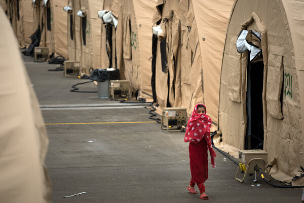NYT: Afghan refugees in limbo