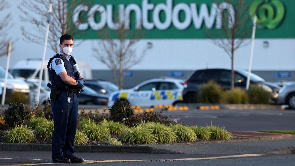 """New Zealand police kill """"ISIS-inspired terrorist"""" after mass stabbing at mall"""